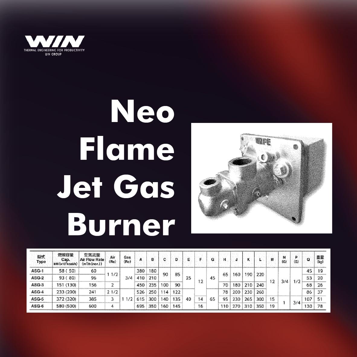 BURNER - WIN-09