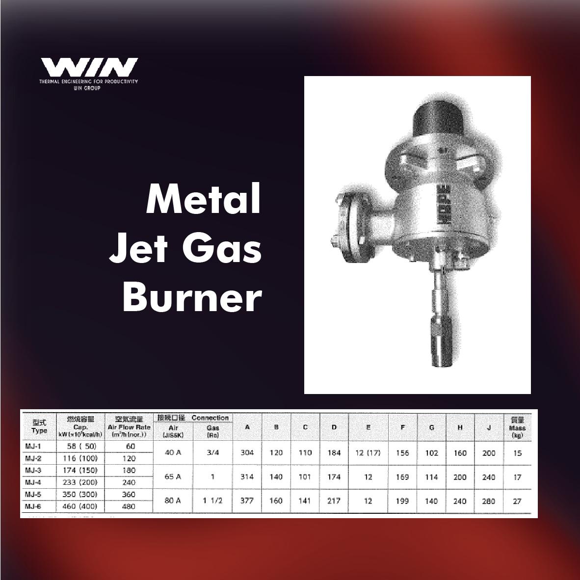 BURNER - WIN-22