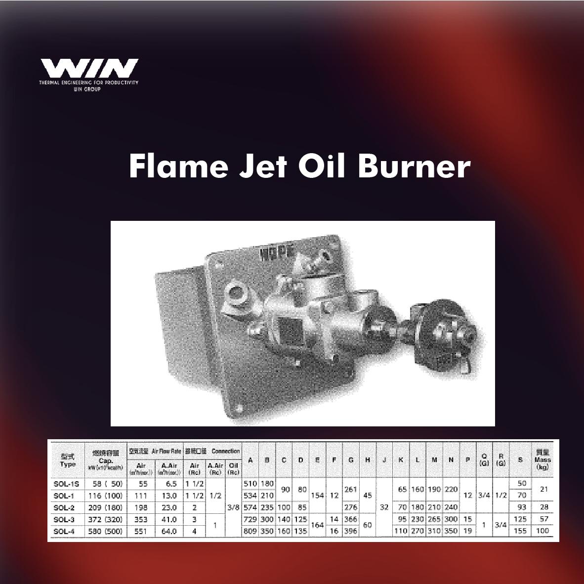 BURNER - WIN-52