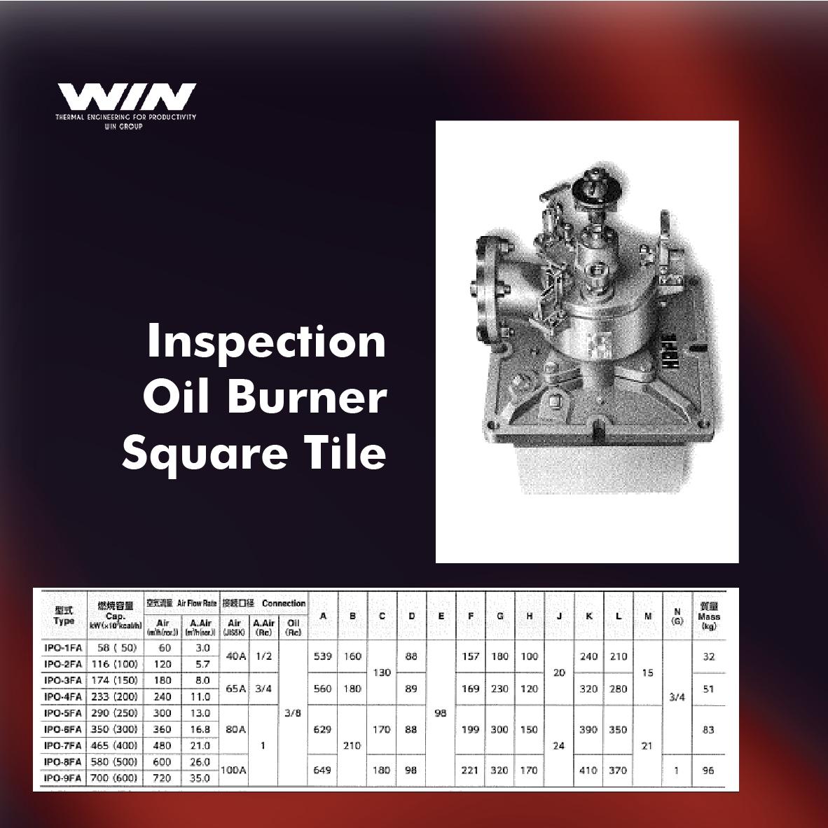 BURNER - WIN-53