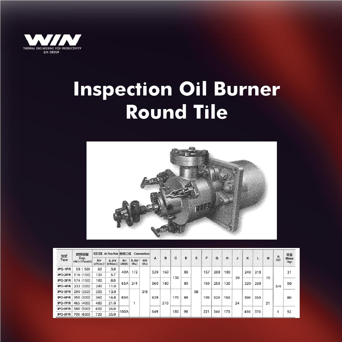 BURNER - WIN-54