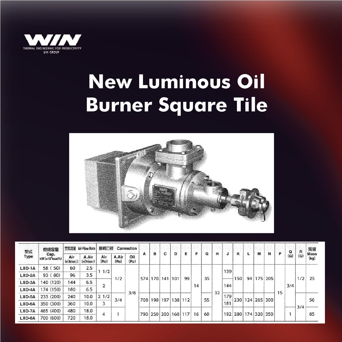 BURNER - WIN-55
