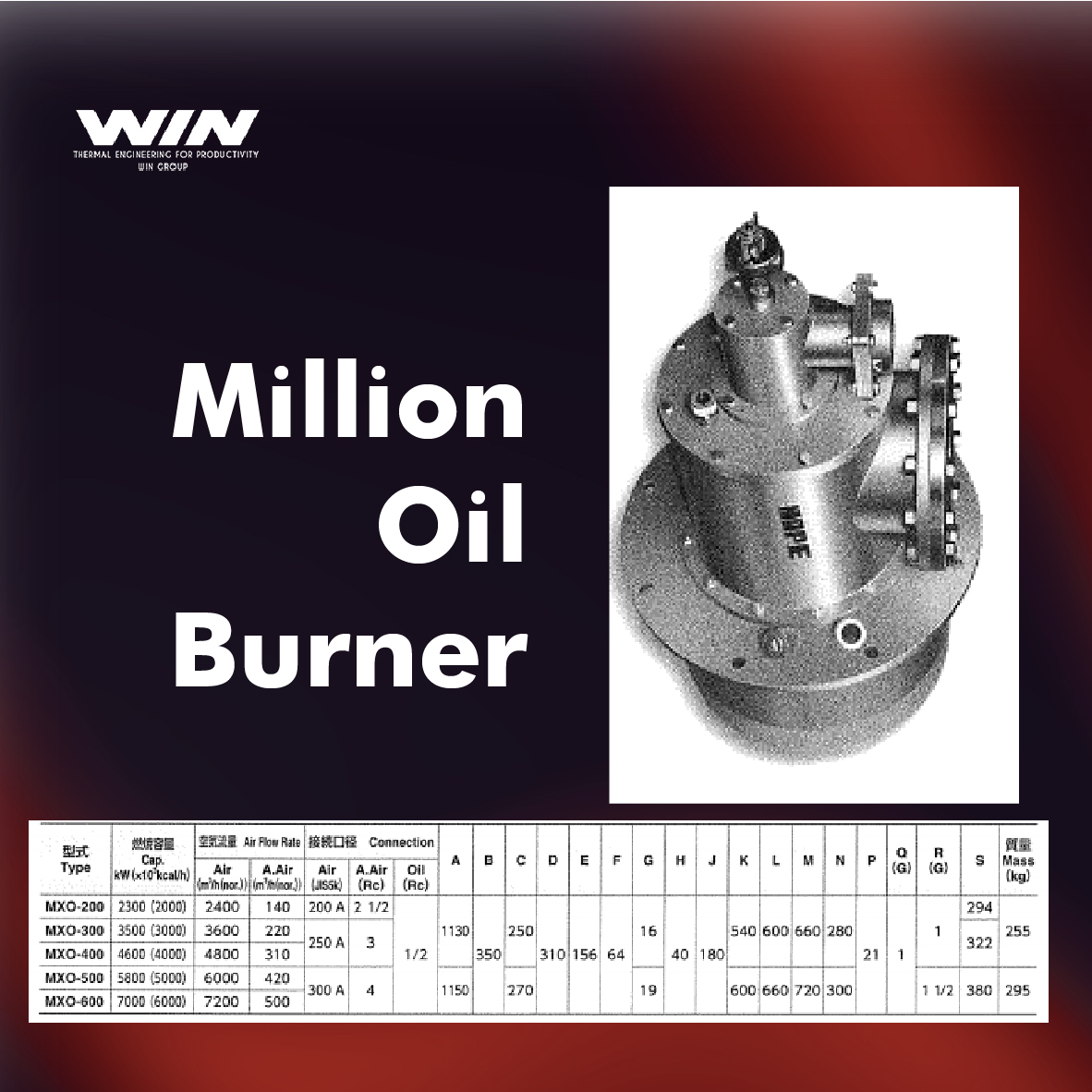 BURNER - WIN-59