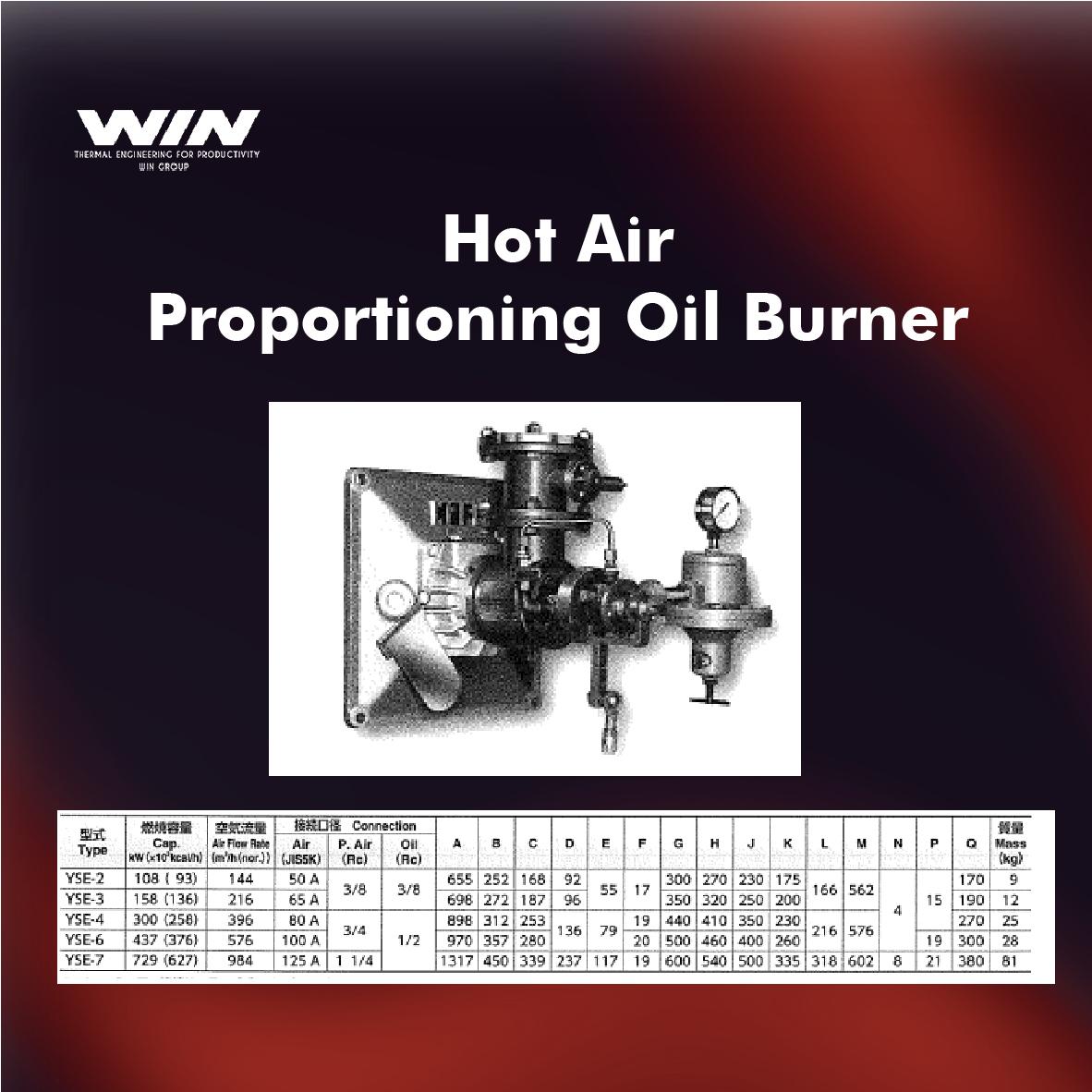 BURNER - WIN-65