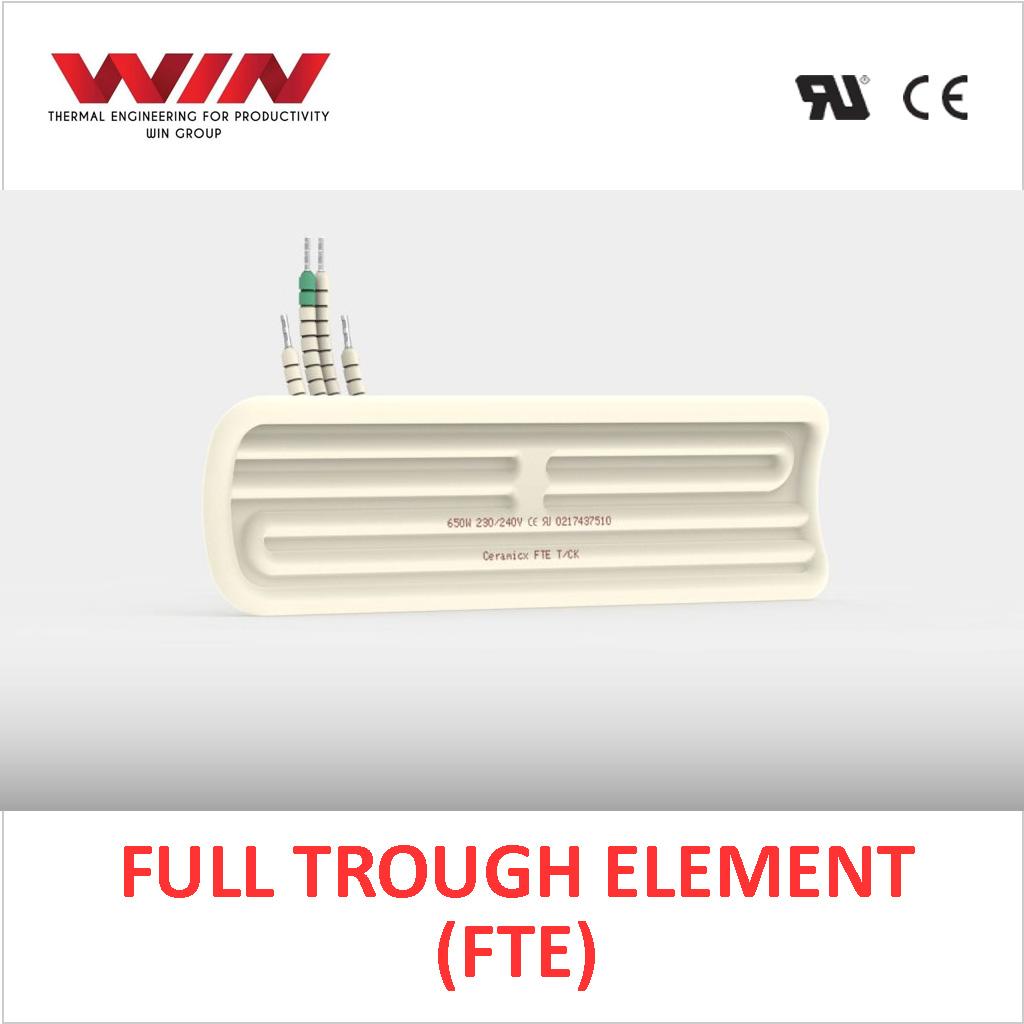 Ceramic Full Trough Element (FTE)