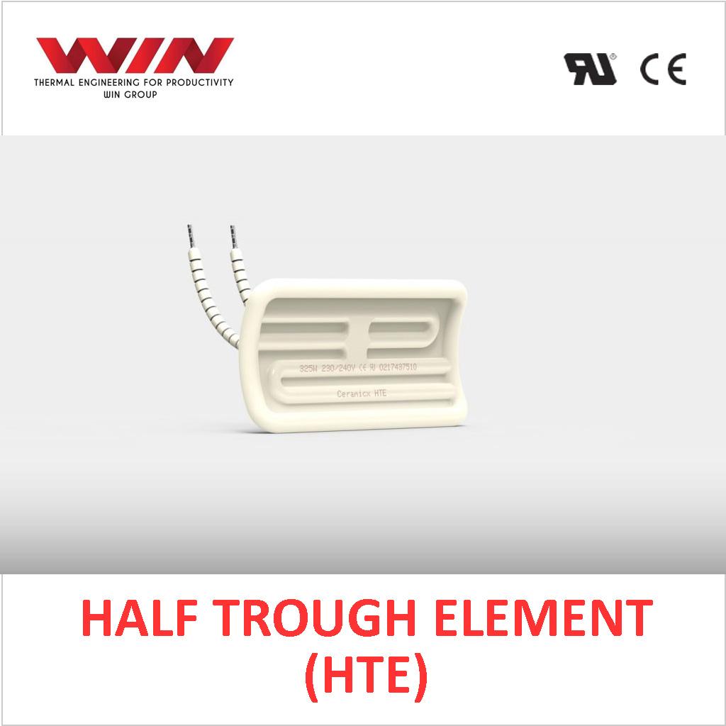 Ceramic Half Trough Element (HTE)
