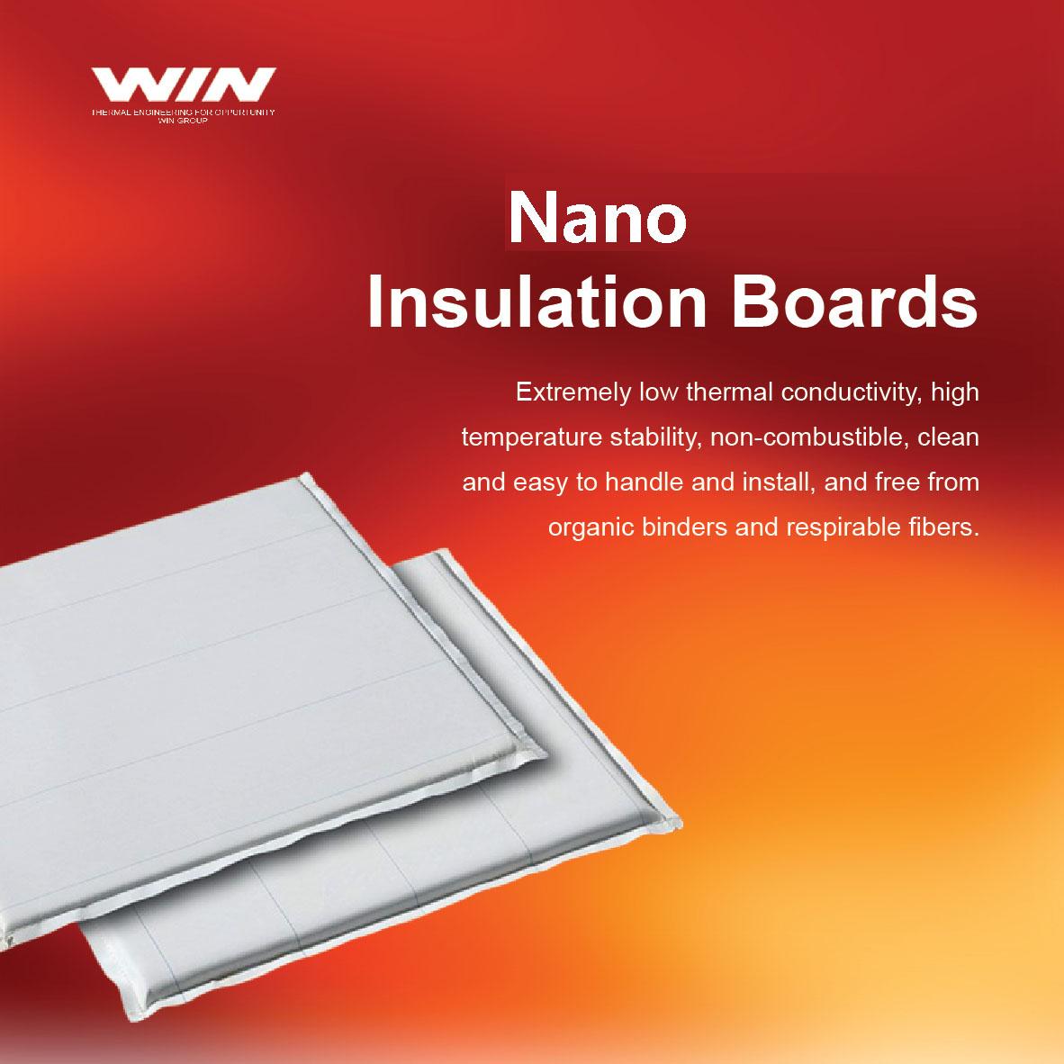 Nano Insulation Boards